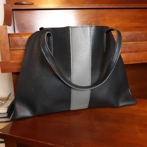 Vince camuto pleather tote bag